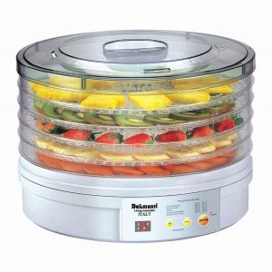 میوه خشک کن دلمونتی مدل Digital fruit dryer DL 190 white