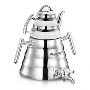 کتری و قوری دلمونتی مدل Tea kettle set DL 1410