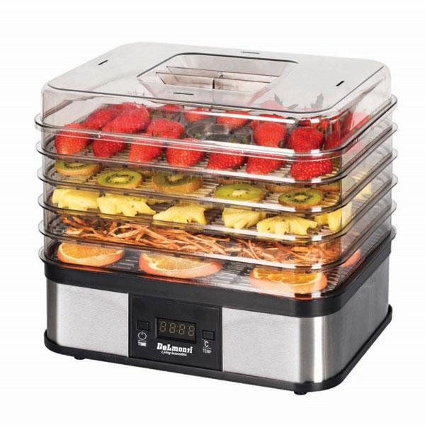 میوه خشک کن دلمونتی طرح مربع مدل Digital fruit dryer DL 190