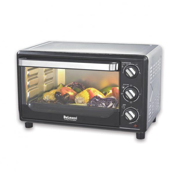توستر ۳۰ مشکی دلمونتی مدل Toaster Oven DL 770 Black